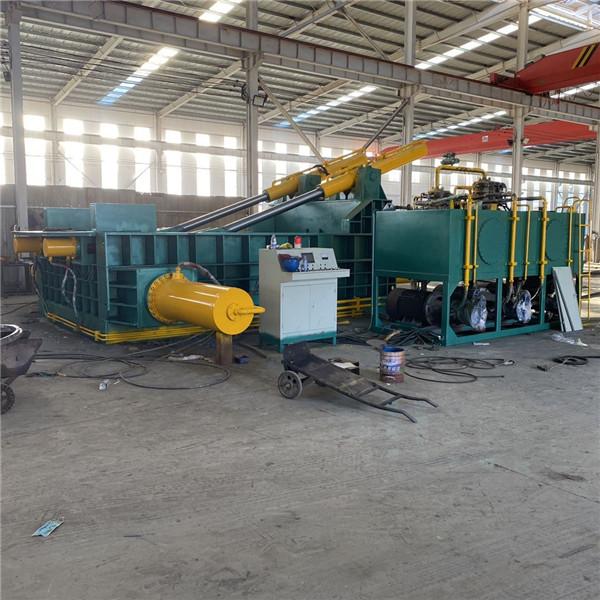 HL-400 吨废旧金属压块ji